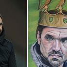 Norfolk artist John Etheridge wants Norwich City manager Daniel Farke to have the painting that he d