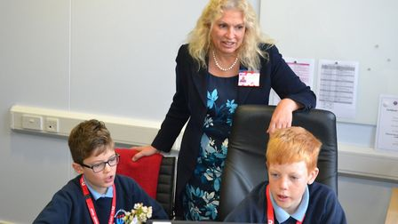Corrienne Peasgood has been made an OBE for services to safeguarding and to construction skills. Pic
