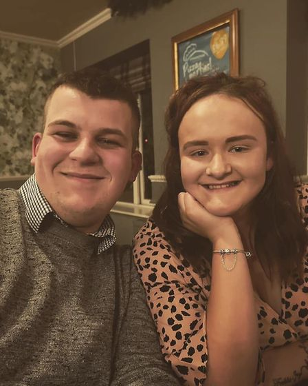Kurtis Eagle and Abbie Jackson, whose baby Felicity-Jane Mina Eva Eagle has died at just six months