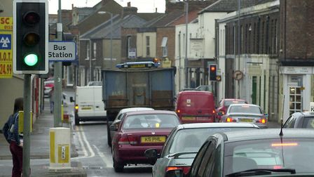 A couple were assaulted near the bus station, on Railway Road in King's Lynn Picture: Archant