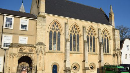 A tour of Tombland. The Chapel of St John the Evangelist, or the Carnary Chapel, where the bones of