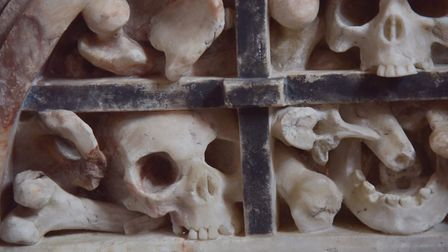 The Charnel Cage at St Margarets Church in Stratton StrawlessByline: Sonya Duncan(C) Archant 2020