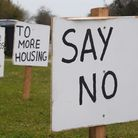 Plans have been approved to build a new estate in North Lopham. Picture: DENISE BRADLEY