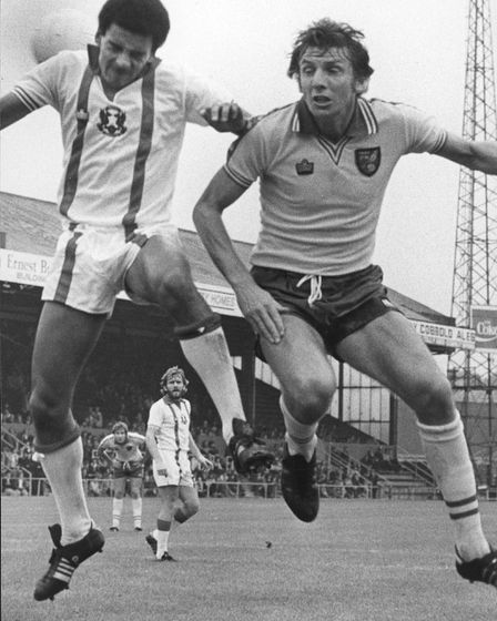 Martin Peters in action for Norwich City. Picture: Archant library