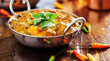 Police say eating hot curry and suffering the side effects is not a reason to call 999. Picture: Ge