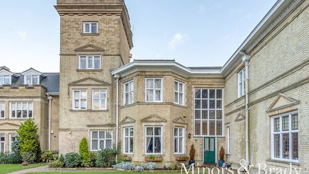 The town house in Blofield Hall, for sale. Pic: Homes24/Minors & Brady