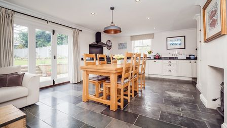 This five-bedroom family home in Halvergate near Acle is on the market at a guide price of 600,000.