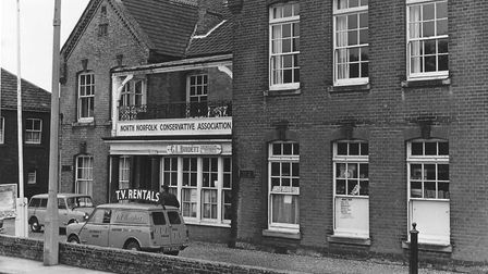 The former Cromer hospital in Louden Road. When this photograph was taken in 1966 it was occupied b