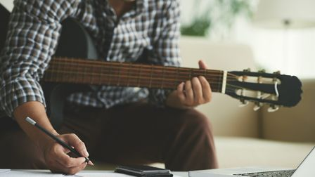 Creative courses on offer in Norwich include songwriting. Picture: Getty Images/ iStockphoto