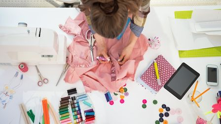 Explore the dressmaking courses on offer at MakePlace in Norwich. Picture: Getty Images/ iStockphoto