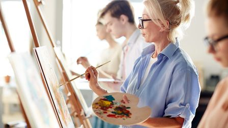 Painting is a great way to switch off from our 'always on' culture. Picture: Getty Images/ iStockpho