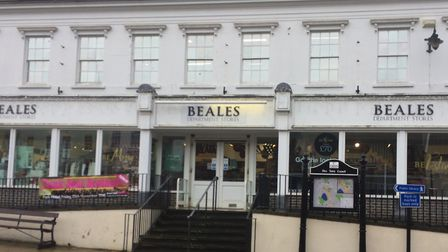 Beales Department Store in Diss. Picture: Anthony Carroll