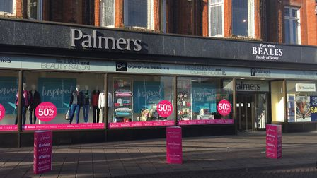 Palmers department store on Market Place in Great Yarmouth. Picture: Archant
