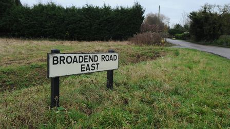 Broadend Road East, close to the A47 Wisbech bypass Picture: Chris Bishop