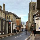 A woman has been raped in a property on White Hart Street, Thetford. Picture by Bethany Whymark