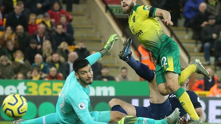Teemu Pukki's first half finish was chalked off by the VAR officials in Norwich City's 2-2 Premier L
