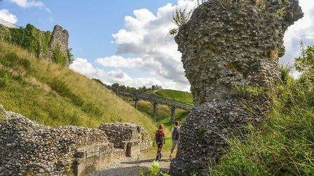 Castle Acre trail Credit: Supplied by Norfolk County Council