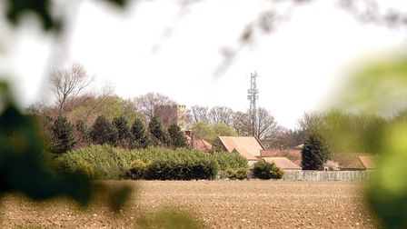The village of Cockthorpe in North Norfolk Cred
