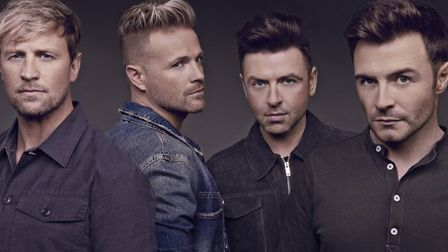 Westlife play Carrow Road in Norwich in June 2020. Picture: Rhodes Media
