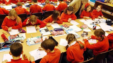 New school places will still be provided in growing areas, a council has insisted, despite data fore