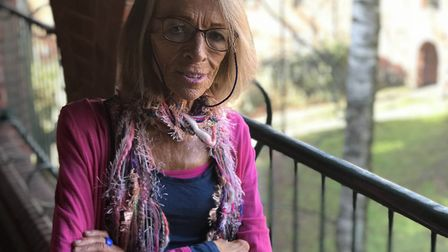 Sarah Middleton, 63, from Norwich, who has suffered with anorexia for 30 years. Photo: Neil Didsbury