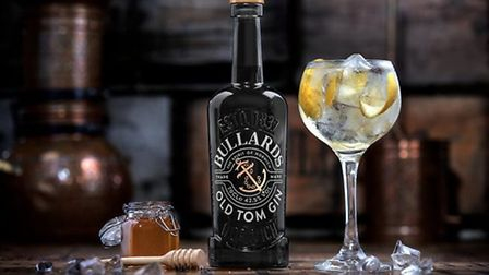 Bullards gin, made at their distillery in Norwich. Pic: Archant