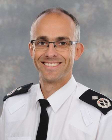 Paul Sanford, Norfolk's deputy chief constable. PIC: Supplied by Norfolk Police.