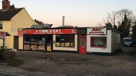 Plans could see Time 2 Eat and ABC Grooming in Shipdham demolished to make way for flats, a convenie