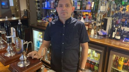 Ben Duraj, owns theTrowel and Hammer pub, on St Stephens Road in Norwich, and has lodged plans to ex
