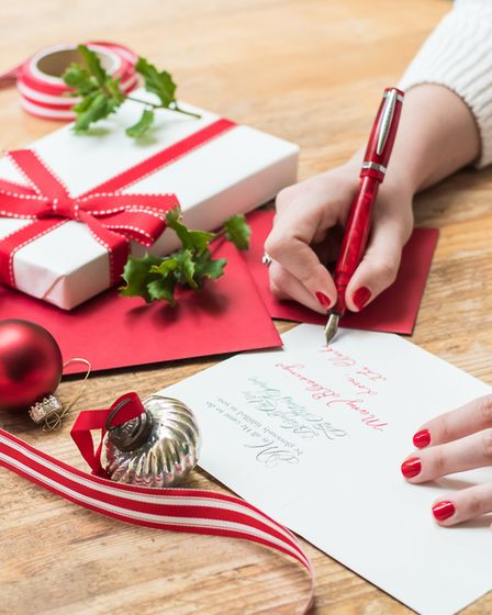 Around a billion cards are thrown away within a few days of Christmas Day every year. Picture: Getty