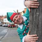 Delivery elf, Philip Doyle, dressed as an elf every day in December to raise money on his delivery r