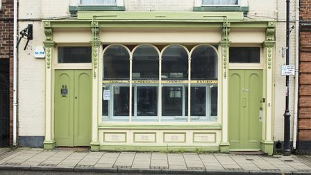 A Victorian chemist store in High Street, Lowestoft, has become Grade II listed. PHOTO: Patricia Pay