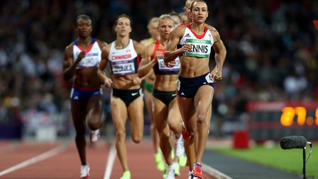 Athletes like Jessica Ennis-Hill inspired a nation at the London 2012 Olympics. Picture: PA