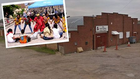 Part of the Wild Stallion dance studio is to be converted into a new church for the Redeemed Christi