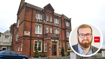 The Manor Hotel, Mundesley. Senior consumer rights editor at Which? Adam French. PHOTO: ANTONY KELLY