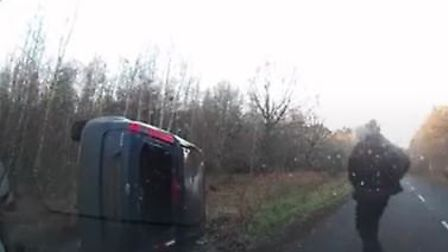 Watch the video to see some of the most dramatic dashcam footage captured in Norfolk and Suffolk thi