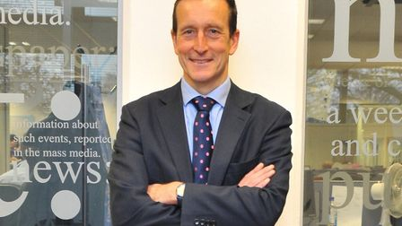 Nick Taylor, chairman of the NDAEA, Norwich & District Association of Estate Agents. Pic: Archant