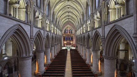 Norwich Roman Catholic Cathedral, The Cathedral of St John the Baptist. Picture: Antony Kelly