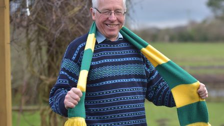 Norwich City season ticket holder Tony Kirwan, 71, plans to get back to Carrow Road for the Canaries