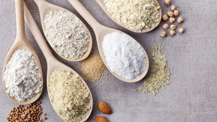 Following a gluten-free diet? There's more choice than ever in gluten-free flours Picture: Getty Im