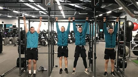 The team at PureGym. This firm currently has gyms in Castle Quarter and Aylsham Road and soon, River