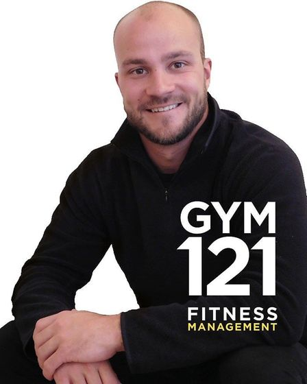 Brad Williams, who is running personal training sessions at the new gym at the Royal Norwich golf cl