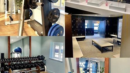 The new Gym 121 at the Royal Norwich golf club, Weston Longville. Pic: Royal Norwich golf club