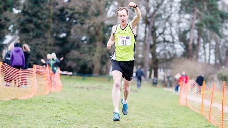 Bure Valley Harriers takes victory at the Norfolk Cross Country Championships. Picture: Mark Hewlett