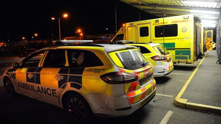 The number of hoax and inappropriate ambulance calls have fallen in the East of England. Picture: De