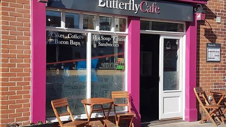 The Butterfly Cafe in Norwich. Picture: John Cornwell