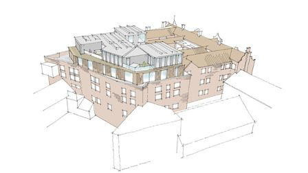 Plans to transform a Mercy nightclub into almost 50 homes and a cafe are set to go ahead. Photo: Est