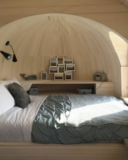 A bedroom to die for