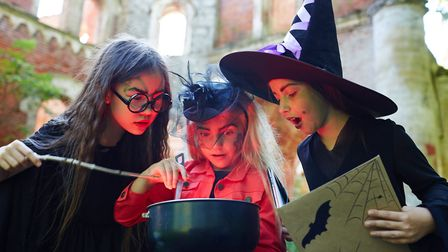 Children under 16 can join adult teams for free on CluedUpp's Witchcraft and Wizardry Detective Day