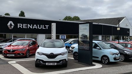 Mitchells has been Renault dealer of the year for three years running Picture: Mitchells